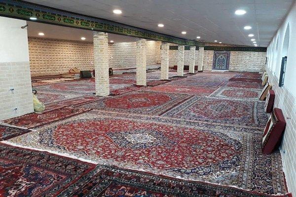 امامزاده سیدنجم الدین بشاگرد آماده برای برگزاری دعای عرفه است