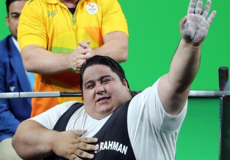 سیامند رحمان در تمرینات رکورد دنیا را شکست