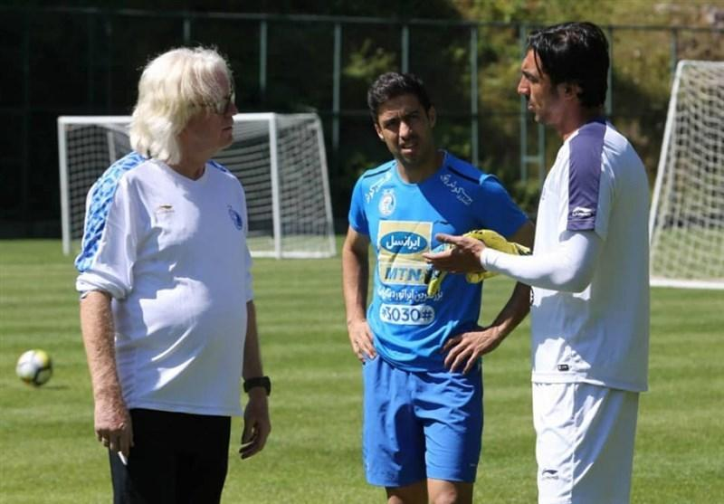 گزارش تمرین استقلال، بازگشت خسرو حیدری و تمرین اختصاصی چند بازیکن زیر نظر شفر