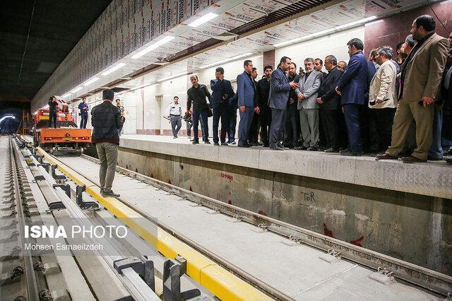 سه دستاورد بازدید وزیر کشور از مترو مشهد