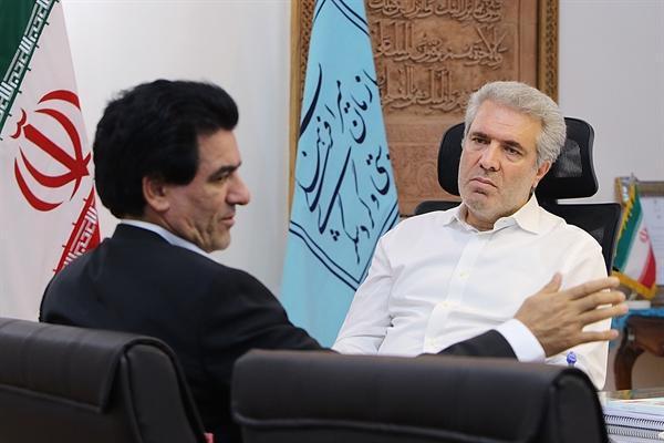 دیدار رئیس سازمان میراث فرهنگی با چند تن از نمایندگان مجلس