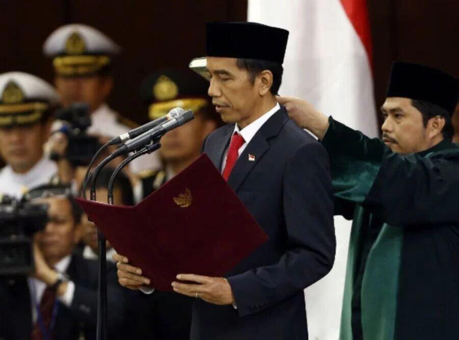شروع دور دوم ریاست جمهوری جوکو ویدودو در اندونزی