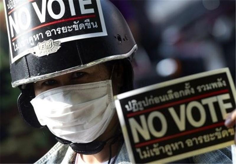 انتخابات تایلند بدون خشونت انتها یافت
