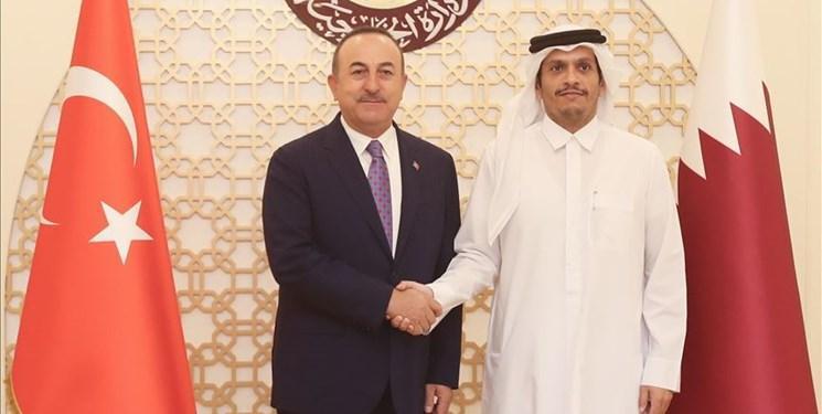 قطر و ترکیه همکاری خود را به حد شراکت استراتژیک ارتقا می دهند