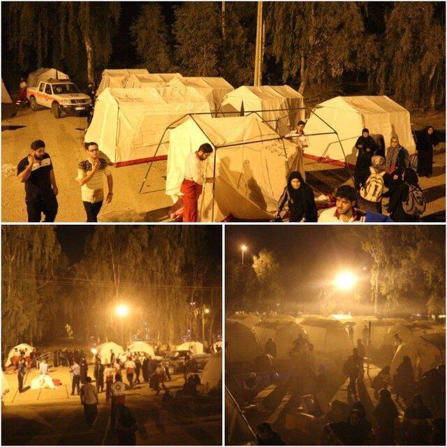 اسکان بیش از 23 هزار زائر اربعین در قصرشیرین طی 3 شب گذشته