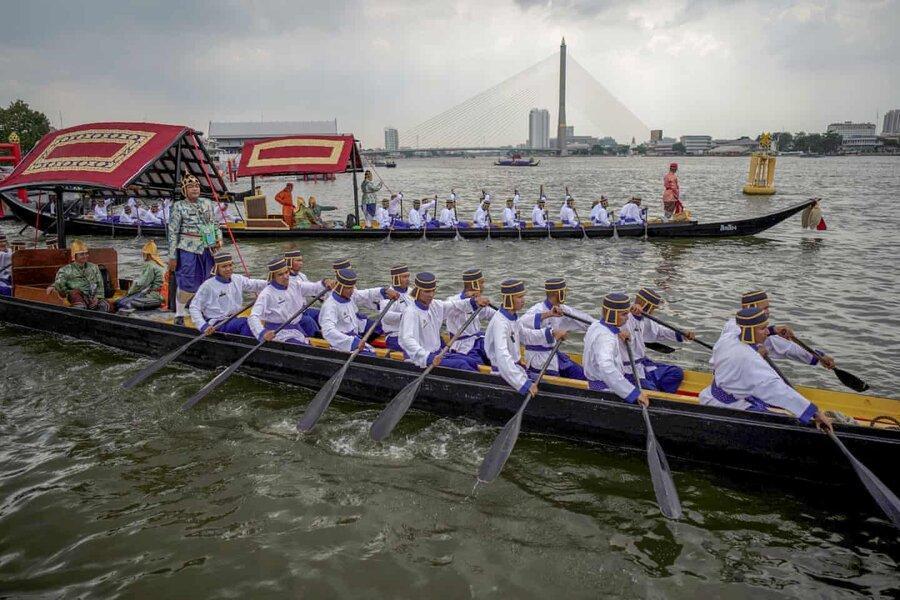 عکس روز: مراسم قایقرانی سلطنتی