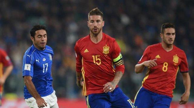 راموس: در ایتالیا بازیکنی که اشتباه می نماید را تشویق می نمایند، در اسپانیا هو!
