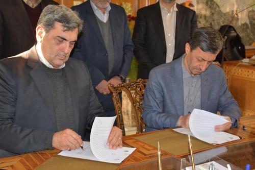 بنیاد مستضعفان و شهرداری تهران تفاهم نامه همکاری مشترک امضا کردند