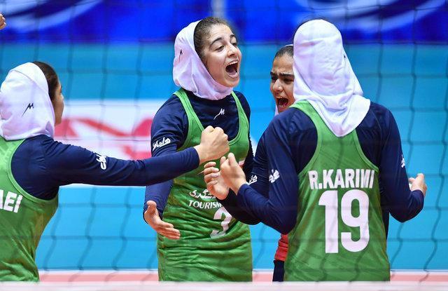 دختران والیبالیست ایران در آسیا هفتم شدند، پیروزی مقابل هند در بازی آخر