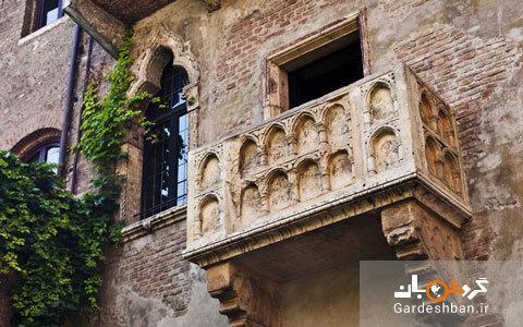 خانه ژولیت و معروف ترین بالکن دنیا در ایتالیا