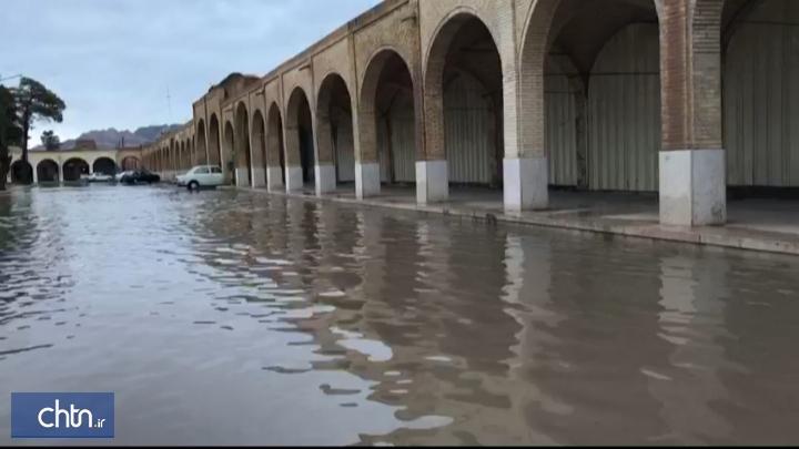 بارندگی های اخیر به بناهای تاریخی کرمان آسیب زده است