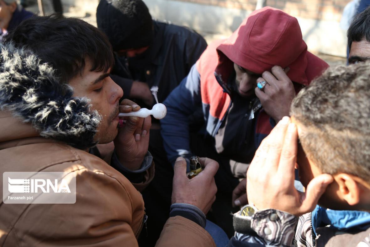 خبرنگاران شروع طرح جمع آوری مجدد معتادان متجاهر