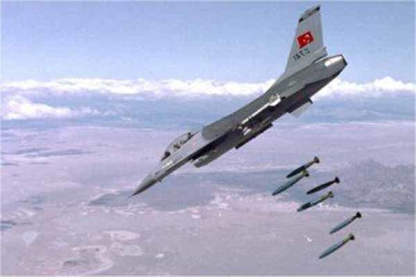 4 کشته در حمله هوایی ترکیه به مواضع پ ک ک در شمال عراق