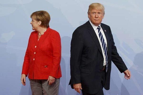 درجا زدن آمریکا پشت خط رهبری دنیا، مرکل سوت خاتمه را زد!