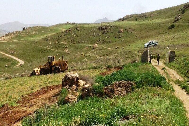 خبرنگاران متخلفان تغییر کاربری اراضی ملی در اردبیل مجازات می شوند