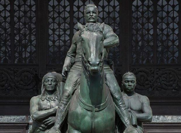 مجسمه نماد نژادپرستی از موزه نیویورک برچیده می شود