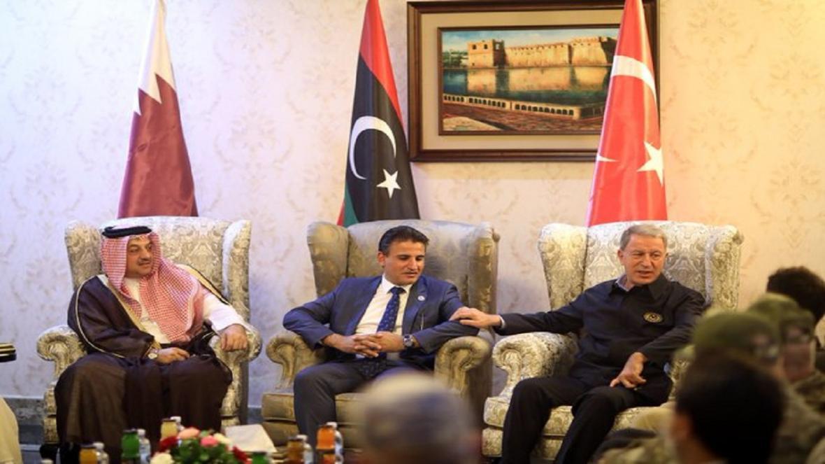 توافق ترکیه، قطر و دولت لیبی برای تبدیل بندر مصراته به پایگاه دریایی آنکارا
