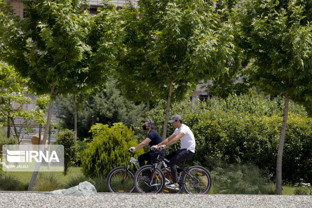 خبرنگاران دوچرخه سواری، ترافیک بجنورد را سامان خواهد داد