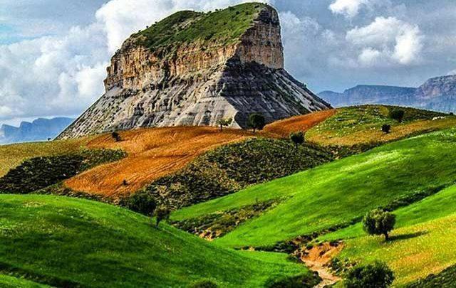 کوه قلاقیران یکی از خاص ترین قله های ایران