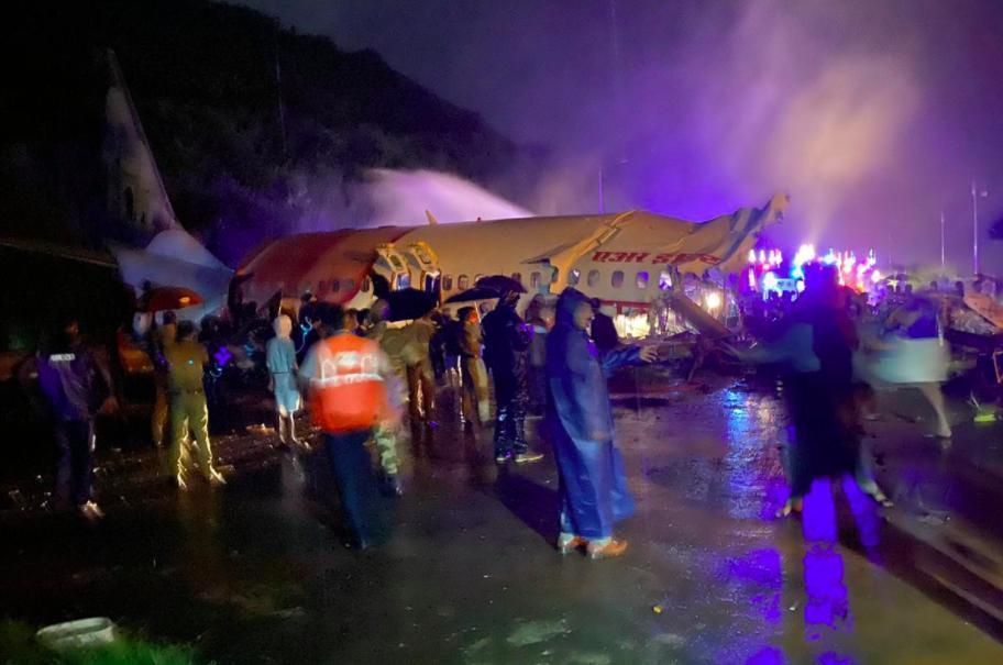 حادثه برای یک هواپیما در هند (