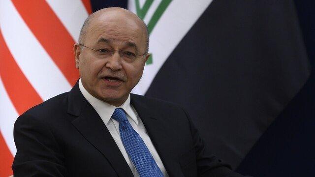 برهم صالح خواستار مجازات عاملان ورود داعش به عراق شد
