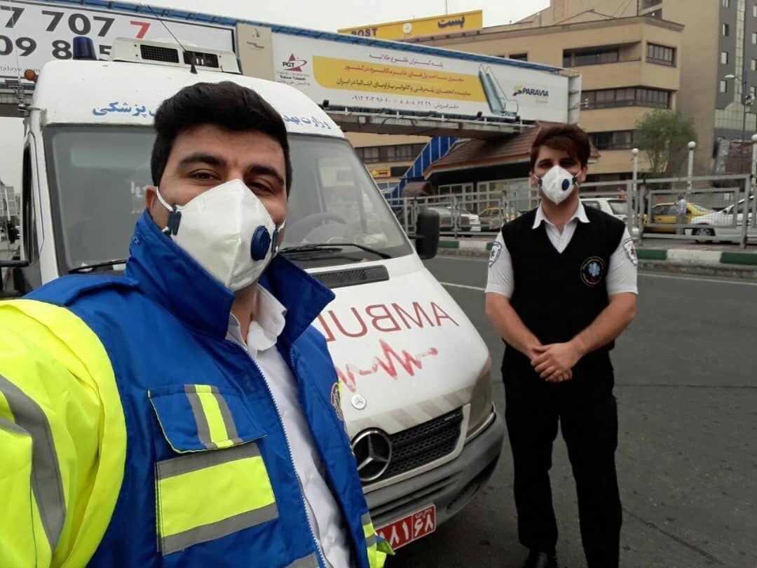 خبرنگاران سه هزار بیمار و مصدوم از خدمات اورژانس البرز بهره مند شدند