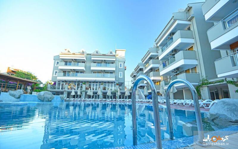 بگونویل؛هتلی 3 ستاره واقع در سواحل مدیترانه مارماریس، تصاویر