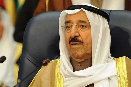 انتشار اخباری درباره فوت امیر کویت