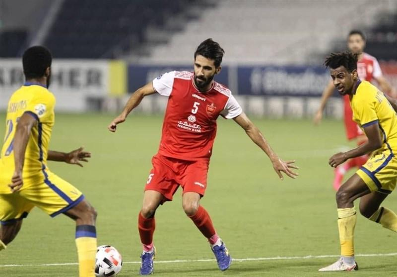لیگ قهرمانان آسیا، ملاقات پرسپولیس و النصر به وقت های اضافه کشیده شد