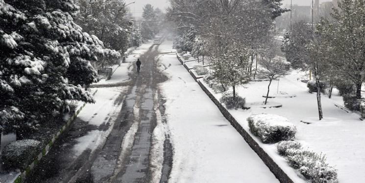 مازندران برفی شد، بارش باران در 9 استان