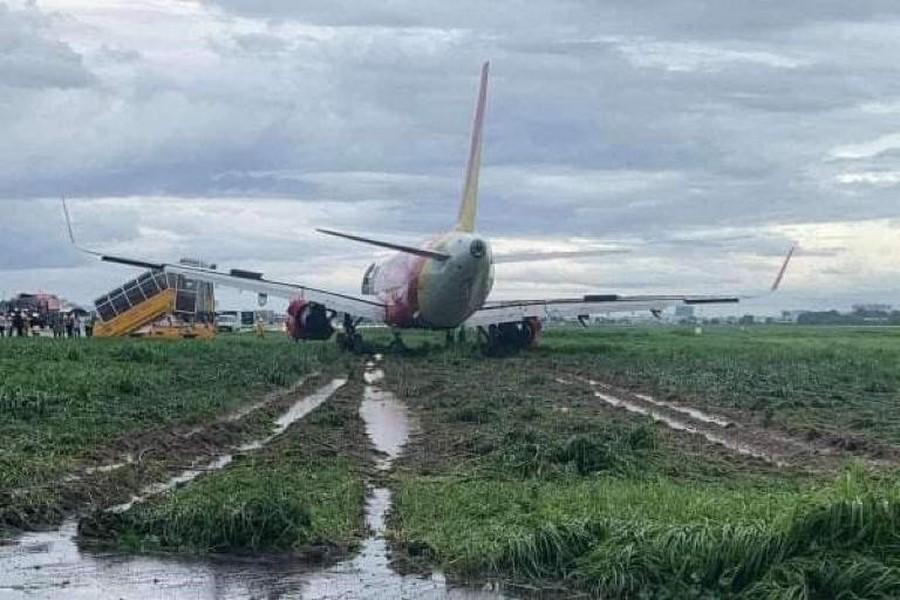 ایرباس 321 ویتنامی دچار حادثه شد