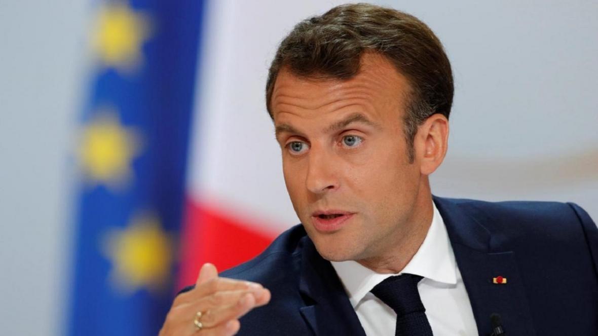 مکرون: باید از حاکمیت کشور&zwnjهای اتحادیه اروپا دفاع کرد