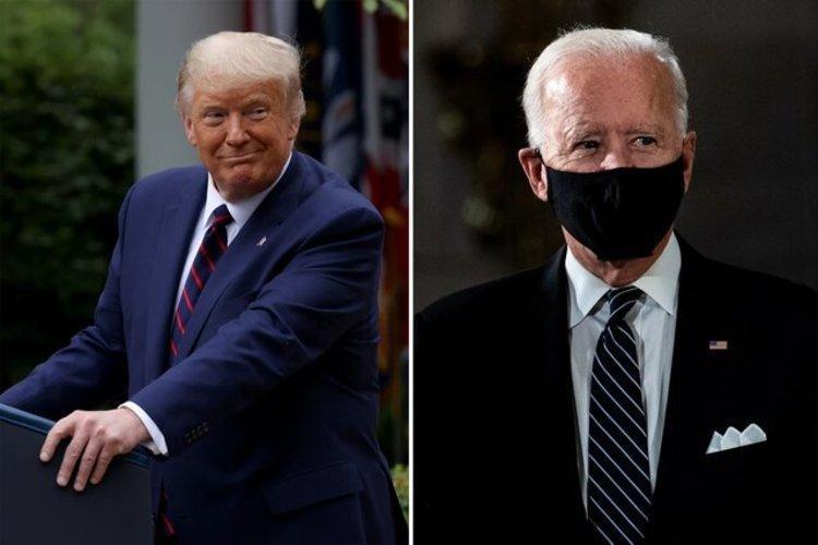 بایدن مصدوم شد، ترامپ: زود خوب شو!