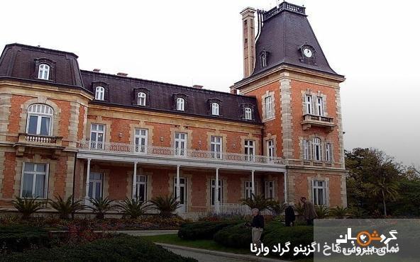 کاخ اگزینو گراد؛ یکی از کاخ های سلطنتی وارنا، عکس