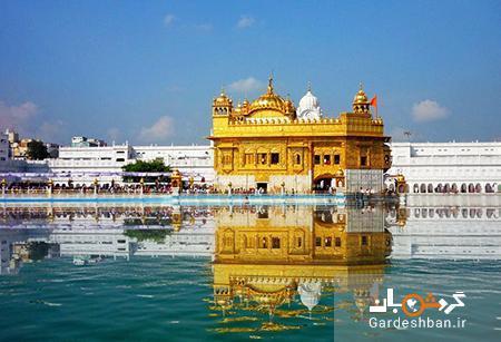 معبد طلایی؛ جاذبه توریستی اصلی در امریتسار هند، عکس