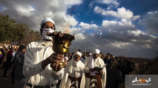ایران و هزاران سال سابقه استفاده از ماسک یا پنام!