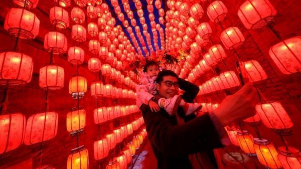 جشنواره بهاره فانوس در چین