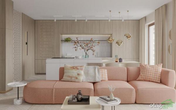 دکوراسیون جوان پسند، آنالیز نمای داخلی خانه 90 متری مدرن