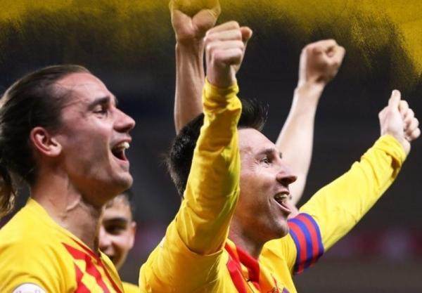 جام حذفی اسپانیا، بارسلونا با غلبه بر بیلبائو قهرمان شد