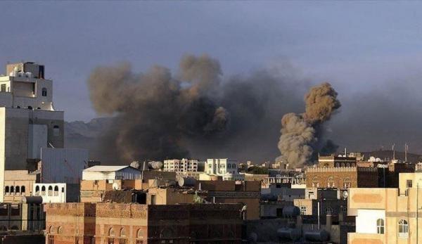 خبرنگاران جنگنده های ائتلاف سعودی 21 بار مأرب یمن را بمباران کردند