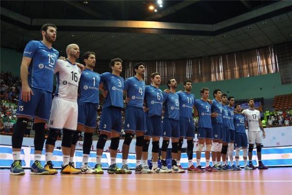 چراغ سبز فدراسیون جهانی والیبال به تیم 9 نفره آرژانتین