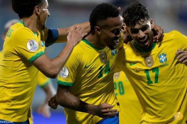 (ویدیو) خلاصه بازی برزیل 1 - 1 اکوادور؛ تساوی بدون نیمار