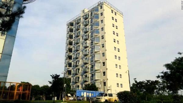 چینی ها رکورد زدند، ساخت ساختمانی 10 طبقه در یک شبانه روز!