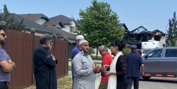 آتش سوزی در کانادا، دو خانواده مسلمان را داغدار کرد