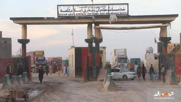 گمرک مرزی در تصرف طالبان، رایزنی برای بازگشت کامیون های ایرانی