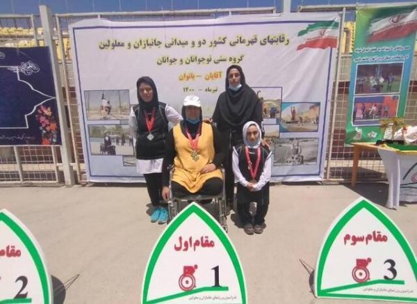 مدال آوری بانوی خوزستانی با طعم حضور در مسابقات دو و میدانی پاراآسیایی جوانان