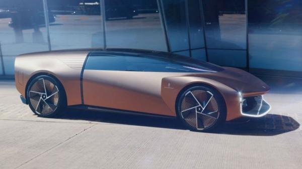 تئورما؛ خودروی ایتالیایی با شیشه های هوشمند