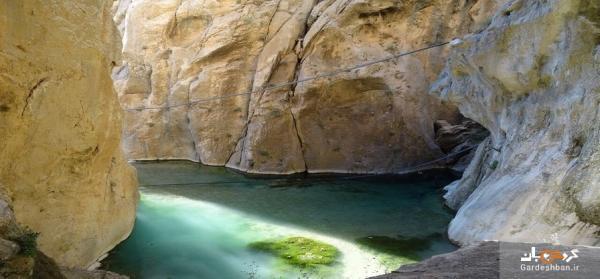 تنگ لیتون آجم؛ بهشت گمشده گردشگران در ایران