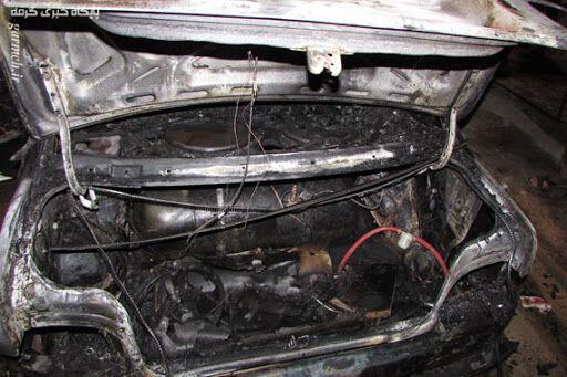 خبرنگاران انفجار سیلندر گاز خودرو در فلاورجان اصفهان 4 مصدوم برجا گذاشت